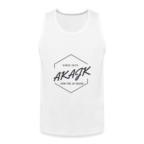 the geometric JK Squad - Men's Premium Tank