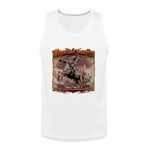 Homeland Security by RollinLow - Men's Premium Tank