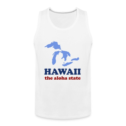 Geographically Impaired - Men's Premium Tank