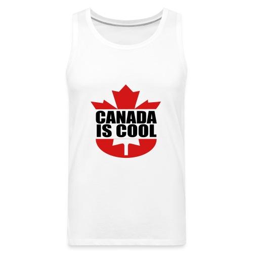Canada is Cool - Men's Premium Tank