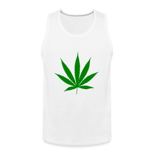 weed-symbol-png-2000px-Cannabis_leaf.svg.png - Men's Premium Tank