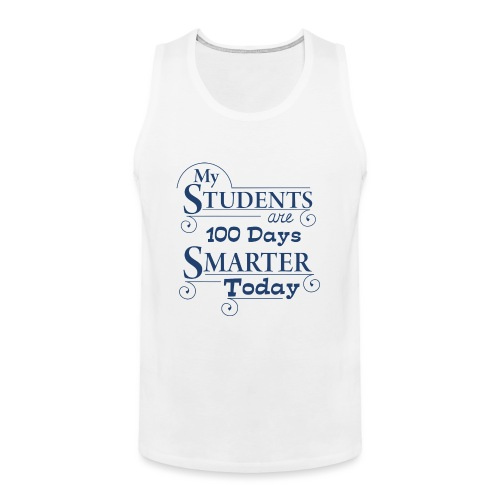 100th Day of School Women's T-Shirts - Men's Premium Tank