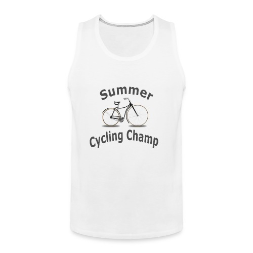 Summer Cycling Champ - Men's Premium Tank