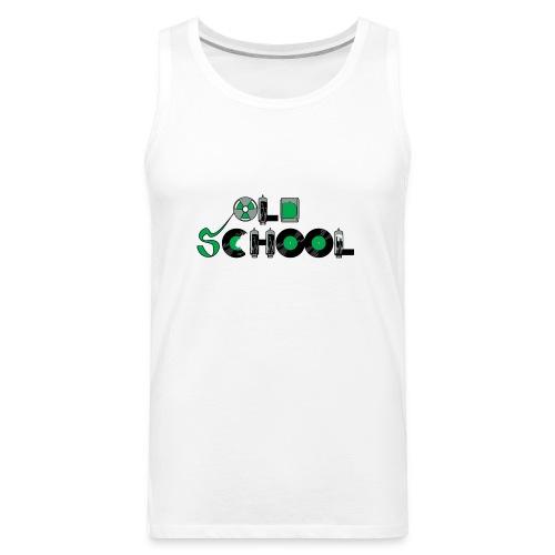 Old School Music - Men's Premium Tank