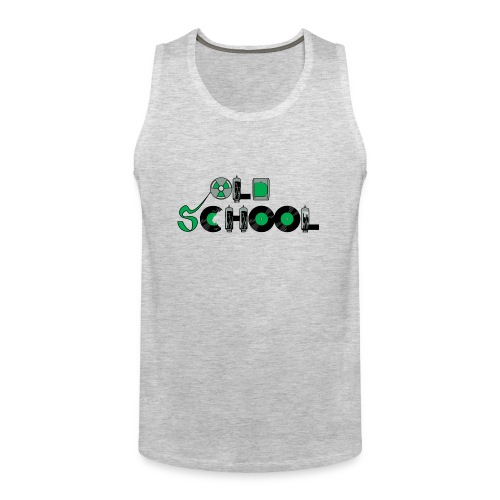 Old School Music - Men's Premium Tank