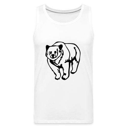 bear - Men's Premium Tank