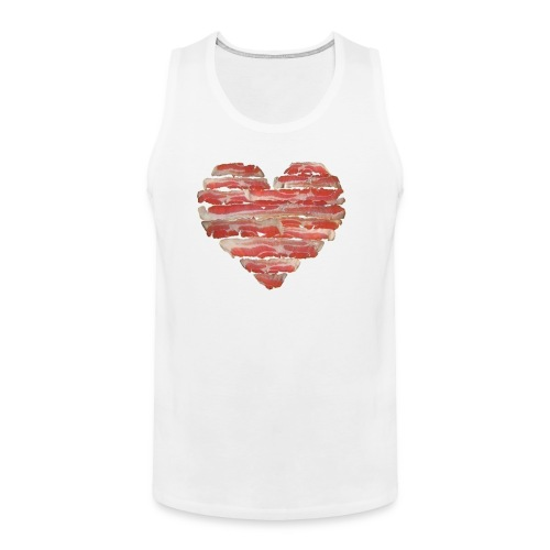 BACON = LOVE - Men's Premium Tank