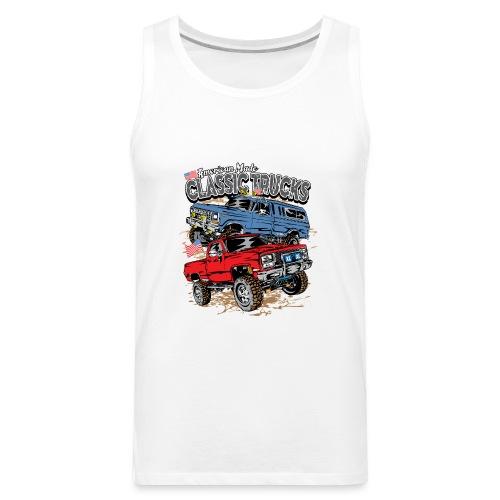American Made Classic Trucks - Men's Premium Tank