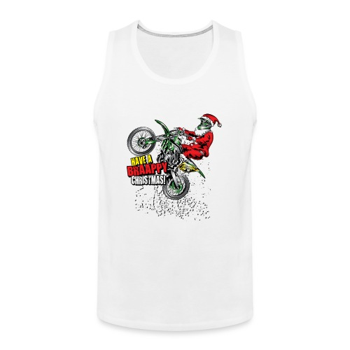 Braappy Christmas Santa - Men's Premium Tank