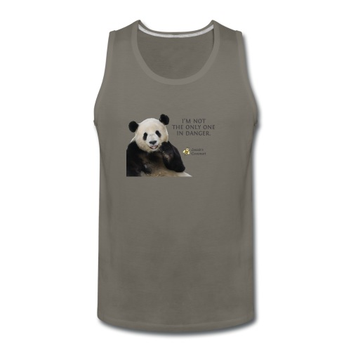 Endangered Pandas - Josiah's Covenant - Men's Premium Tank
