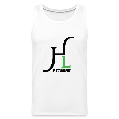 HIIT Life Fitness Logo - Men's Premium Tank
