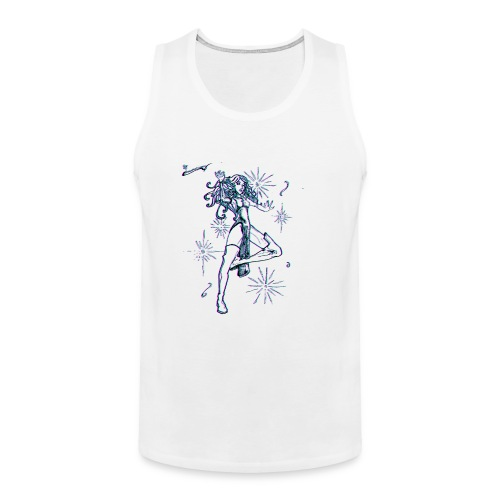 Sparkle MAGIC - color effect - Men's Premium Tank