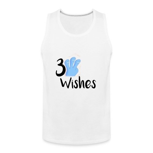3 Wishes Abstract Design. - Men's Premium Tank