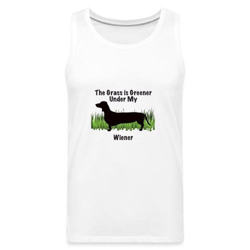 Wiener Greener Dachshund - Men's Premium Tank