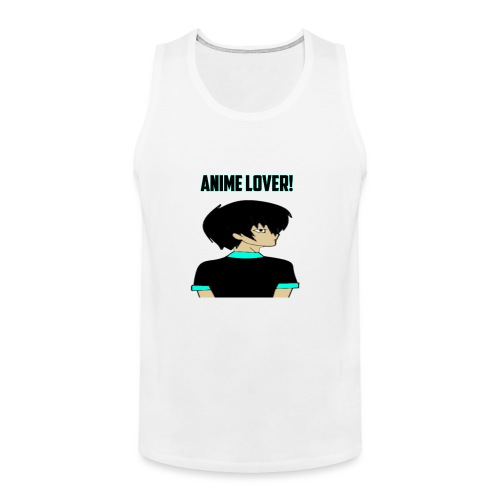 anime lover - Men's Premium Tank