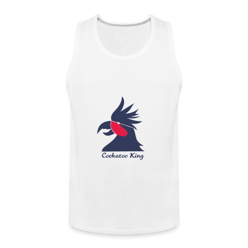 Cockatoo Logo - Men's Premium Tank