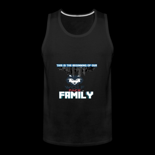 We Are Linked As One Big WolfPack Family - Men's Premium Tank