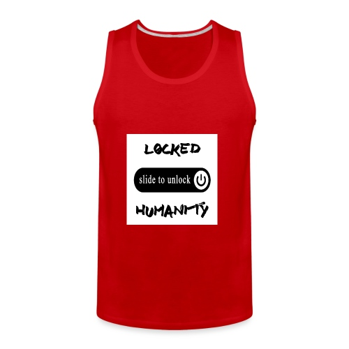 Locked Humanity - Men's Premium Tank