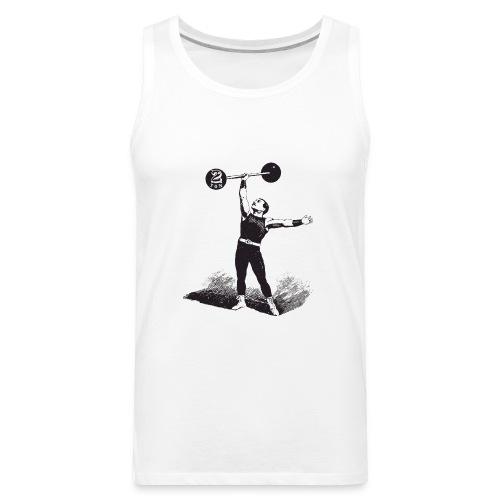 Women's 2Ton Sideshow Strongman Shirt - Men's Premium Tank