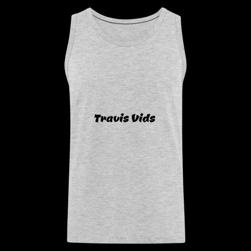 White shirt - Men's Premium Tank
