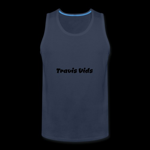 White shirt - Men's Premium Tank
