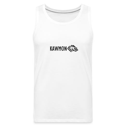 Kawmon Athleisure Gym Apparel Chest Logo - Men's Premium Tank