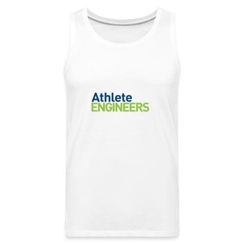 Athlete Engineers - Stacked Text - Men's Premium Tank