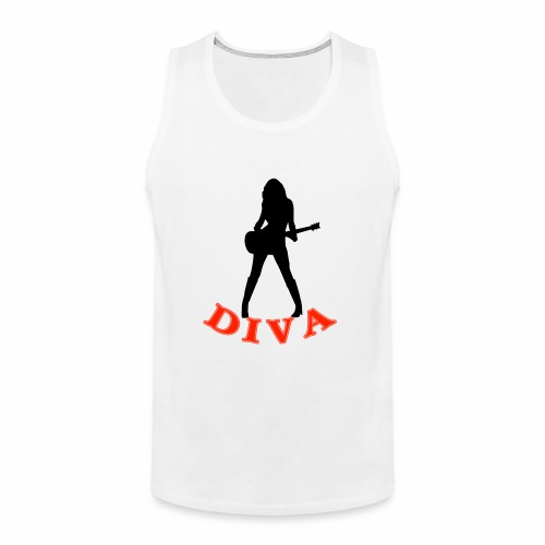 Rock Star Diva - Men's Premium Tank