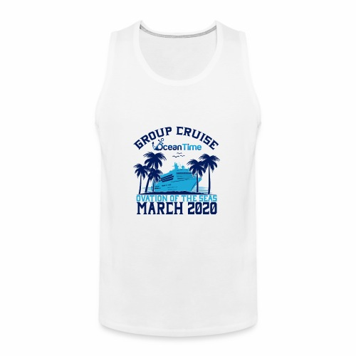 Ocean Time Group Cruise Ovation 2020 - Men's Premium Tank