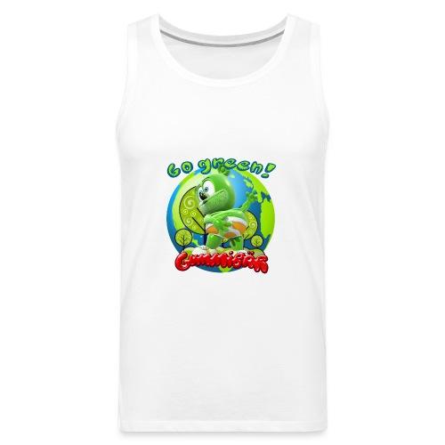 Gummibär Go Green Earth Day Earth - Men's Premium Tank