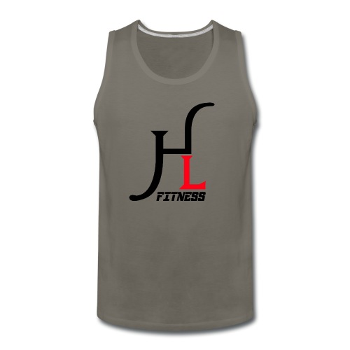 HIIT Life Logo Red - Men's Premium Tank