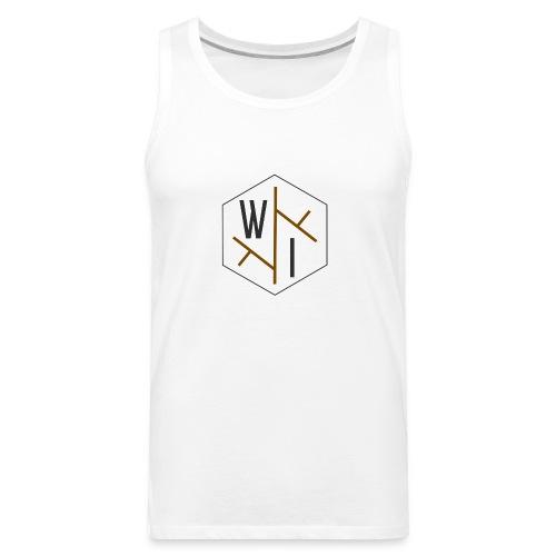 Woman's T-Shirt // Coloured Logo - Men's Premium Tank