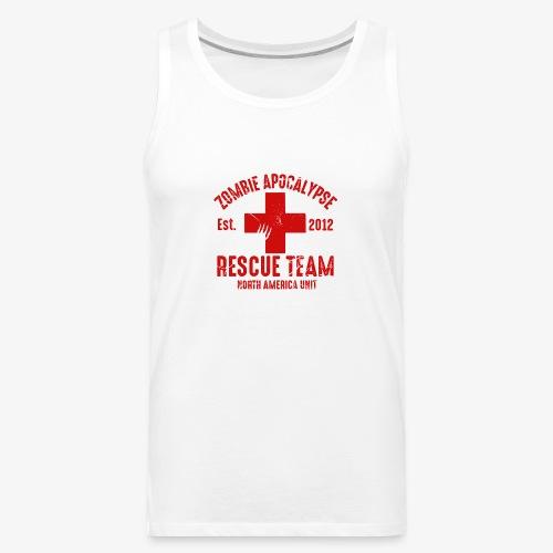Zombie Rescue Halloween Shirt - Men's Premium Tank