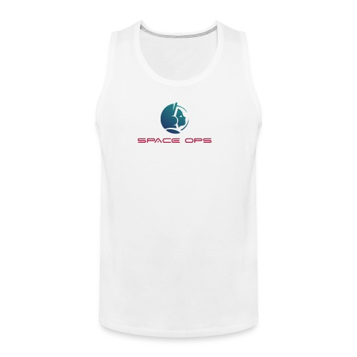 Space Ops Logo - Men's Premium Tank