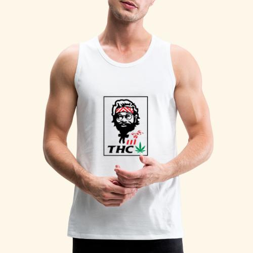 THC MEN - THC SHIRT - FUNNY - Men's Premium Tank