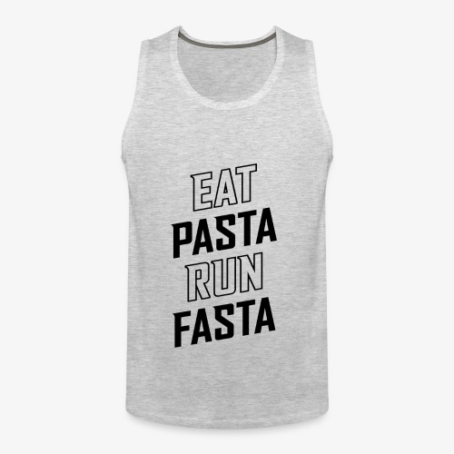 Eat Pasta Run Fasta v2 - Men's Premium Tank