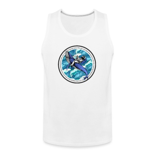 Astronaut Whale - Men's Premium Tank