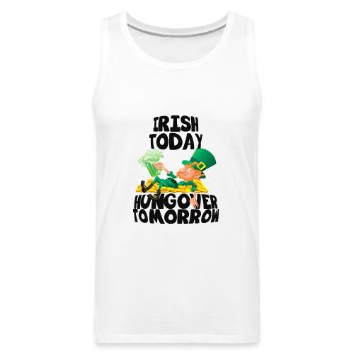 St Patrick's Day Irish Shirt - Men's Premium Tank