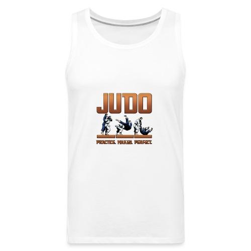 Judo Practice Makes Perfect Design - Men's Premium Tank