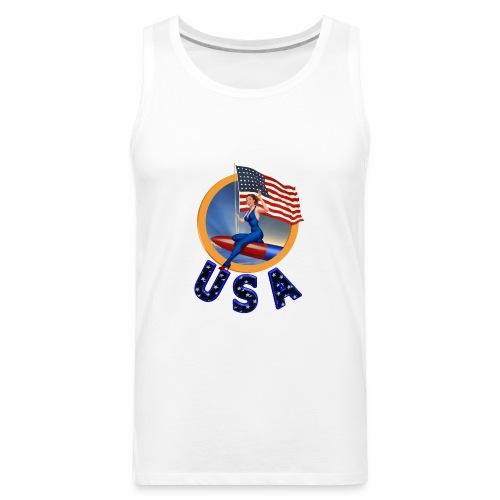 Flag USA - Men's Premium Tank