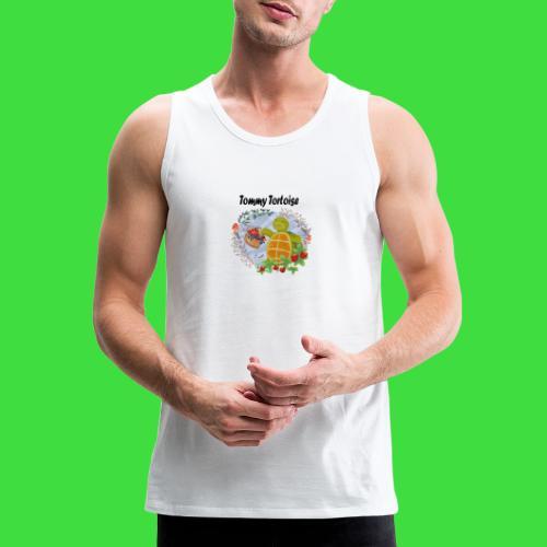 Tommy Tortoise white - Men's Premium Tank