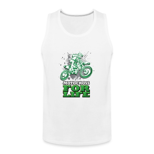 Motocross For Life - Men's Premium Tank