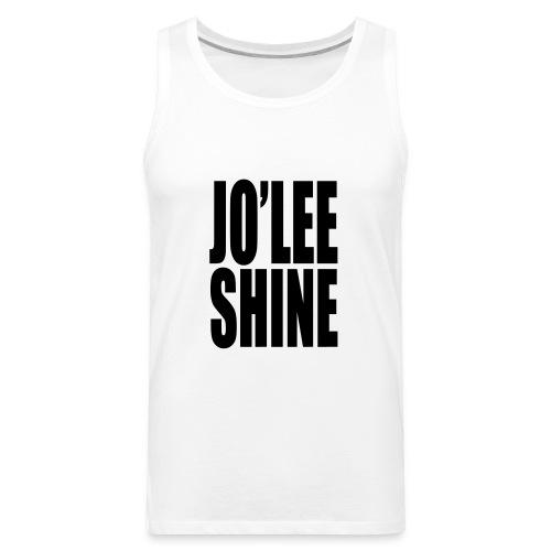 JO'LEE SHINE WOMEN'S T SHIRT WHT/PNK - Men's Premium Tank