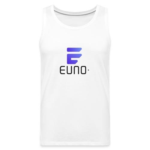 EUNO LOGO POTRAIT BLACK FONT - Men's Premium Tank