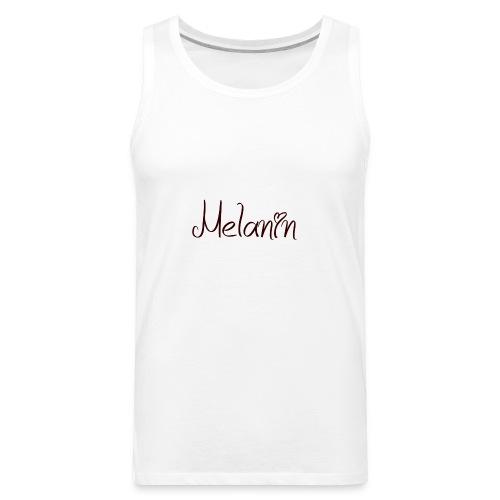I Love Melanin - Men's Premium Tank