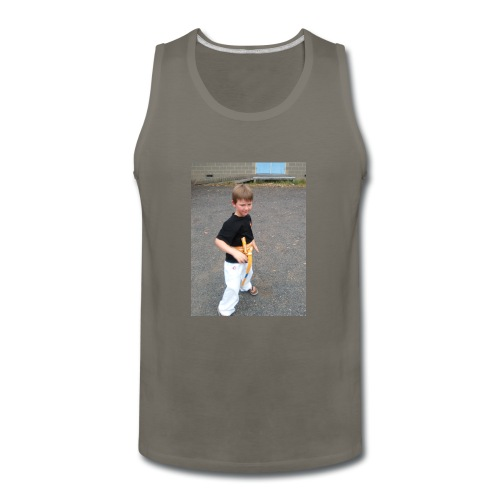 karate T-shirt - Men's Premium Tank