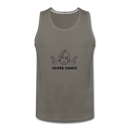 New LOGO - Men's Premium Tank