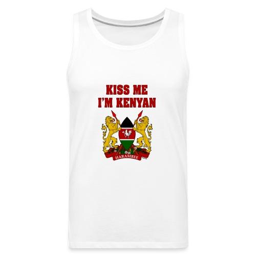 Kiss Me, I'm Kenyan - Men's Premium Tank