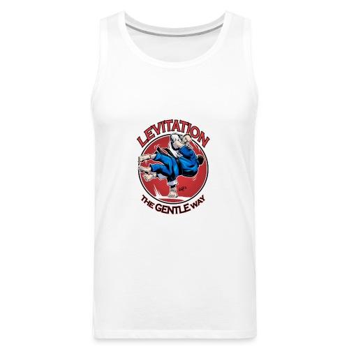 Judo Levitation for white shirt - Men's Premium Tank