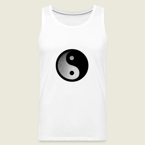 yin yang moon - Men's Premium Tank